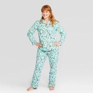 Wondershop Holiday Christmas Flannel Dog Pajamas
